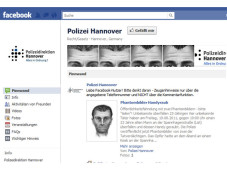 Facebook-Seite Polizei Hannover&nbsp;&copy;&nbsp;COMPUTER BILD