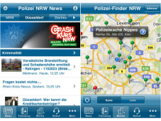 iPhone-App Polizei NRW&nbsp;&copy;&nbsp;COMPUTER BILD