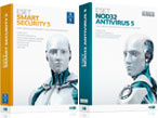 ESET NOD32 Antivirus 5und ESET Smart Security 5 ©Datsec
