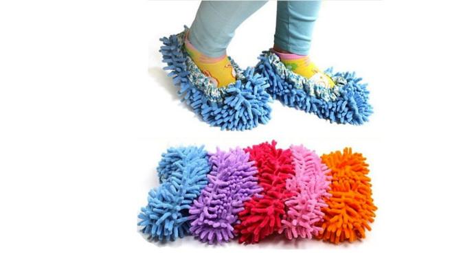 Cute Dust Mop Slippers ©Amazon