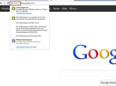 Google Verschlüsselung Websuche ©Google, COMPUTER BILD