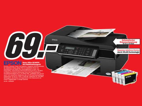 Epson Stylus Office BX305FW ©Media Markt