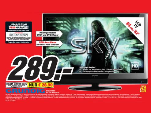 Grundig 32 VLC 6110 C ©Media Markt