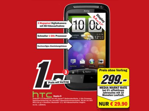 HTC Desire ©Media Markt