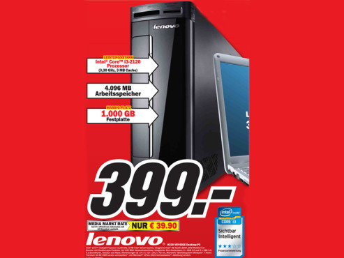 Lenovo H330 VBY4EGE ©Media Markt