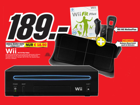 Nintendo Wii Fit Plus Pack © Media Markt