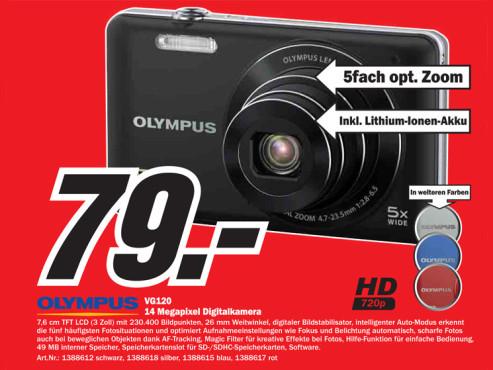 Olympus VG-120 ©Media Markt