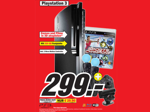 Sony Playstation 3 © Media Markt