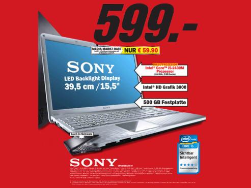 Sony VPCEH2N1E-B-W ©Media Markt