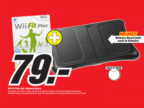 Wii Fit Plus inklusive Balance Board © Media Markt