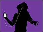Werbung für den iPod ©Apple