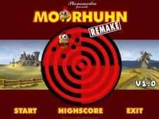 """Moorhuhn Remake: Über """"Start"""" mit der Moorhuhnjagd beginnen"""