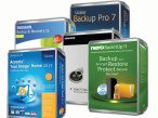 Datensicherung und Backup mit Acronis True Image, Nero BackItUp, Ocster Backup Pro, Paragon Backup & Recovery, O&o Diskimage © COMPUTER BILD