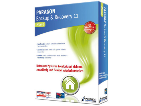 Paragon Backup & Recovery 11 Home © Paragon