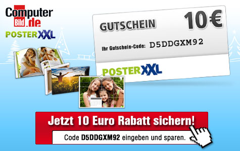 passend zu weihnachten 10 euro gutschein f r fotoprodukte sichern audio video foto bild. Black Bedroom Furniture Sets. Home Design Ideas