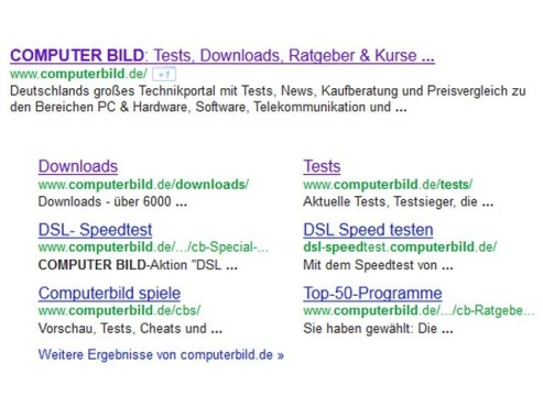 Meta Description von COMPUTER BILD © COMPUTER BILD