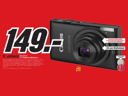 Canon Ixus 220 HS ©Media Markt