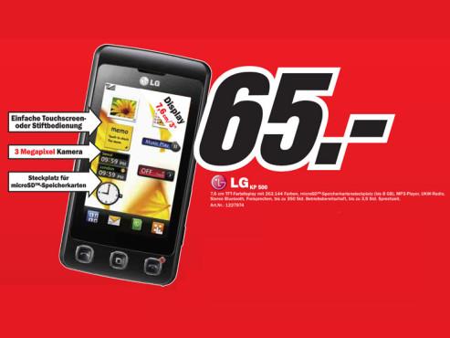 LG KP 500 ©Media Markt