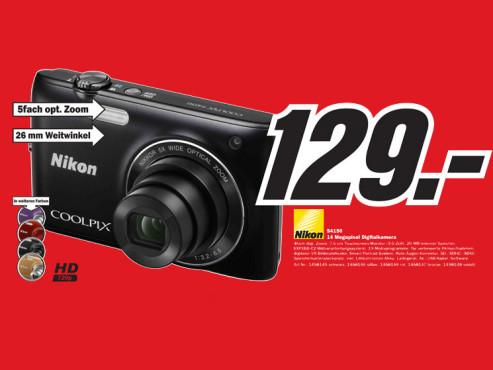 Nikon S4150 ©Media Markt