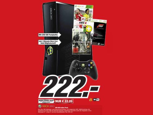 Xbox-360-Paket ©Media Markt
