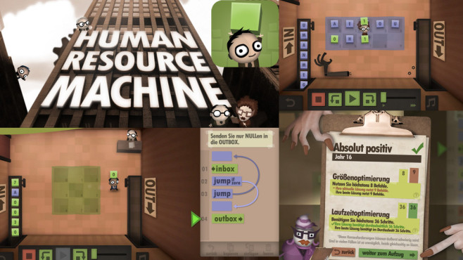 Human Resource Machine © Experimental Gameplay Group