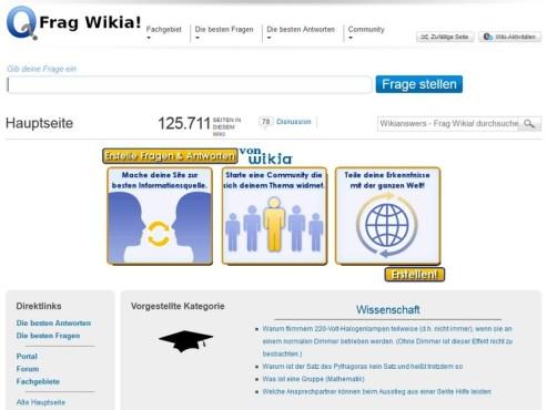 Screenshot Frag Wikia ©COMPUTER BILD