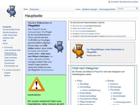Screenshot PflegeWiki ©COMPUTER BILD