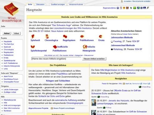 Screenshot Wiki Aventurica ©COMPUTER BILD