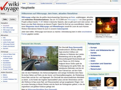 Screenshot WikiVoyage ©COMPUTER BILD