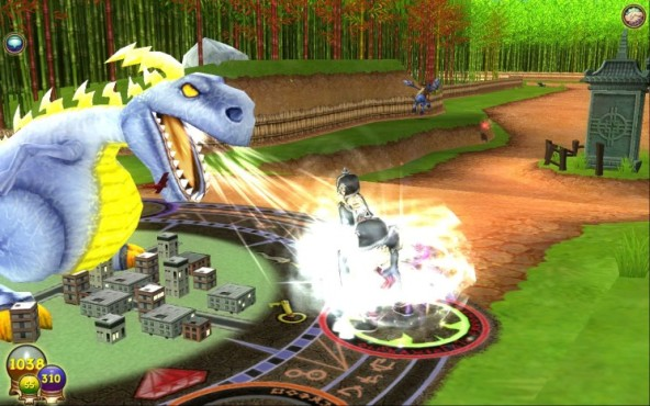 Wizard101: Stormzilla Angriff © Gameforge