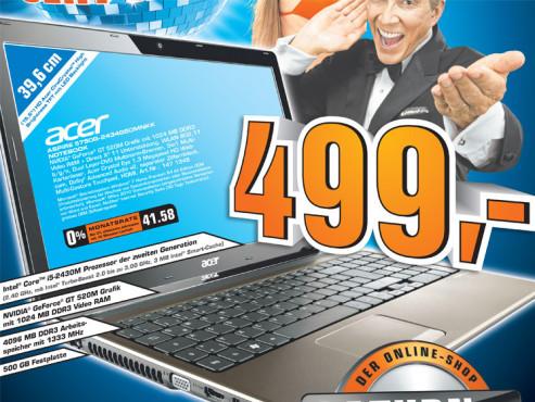 Acer Aspire 5750G-2434G50MNKK ©Saturn