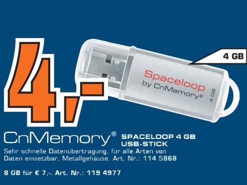 CnMemory Spaceloop 4 GB ©Saturn