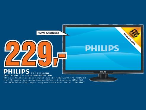 Philips 273E3LHSB ©Saturn