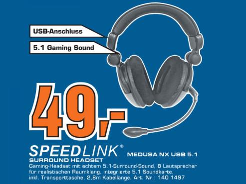 Speedlink Medusa NX USB 5.1 ©Saturn