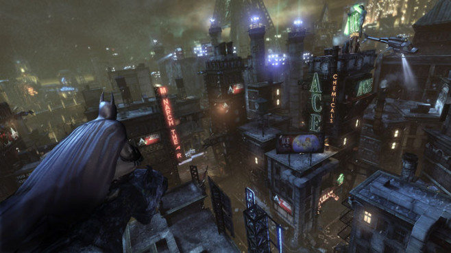 Actionspiel Batman – Arkham City: Stadt © Warner Bros. Interactive
