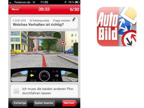 AUTO BILD Führerschein-Trainer ©Axel Springer AG