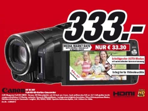 Canon HF M 307 ©Media Markt