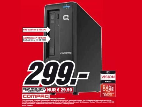 Compaq CQ1102DE ©Media Markt