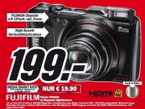 Fujifilm Finepix F500EXR ©Media Markt