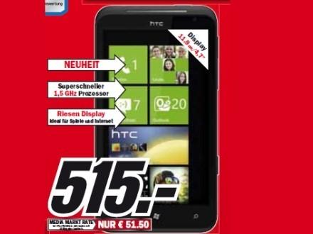 HTC Titan ©Media Markt