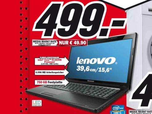 Lenovo G570 M5179GE ©Media Markt