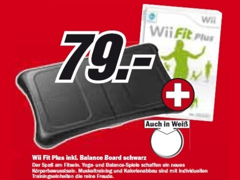 Nintendo Wii Fit Plus mit Balance Board © Media Markt