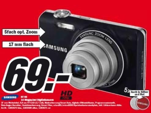 Samsung ST 65 ©Media Markt