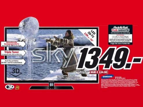 Samsung UE55D6200 ©Media Markt
