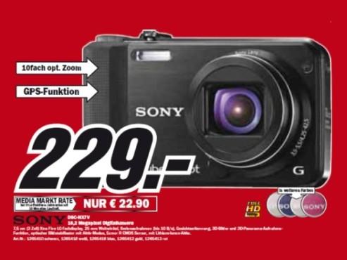 Sony DSC-HX7V ©Media Markt