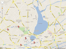 Google Maps &ndash; Hamburg-Zentrum&nbsp;&copy;&nbsp;Google Maps