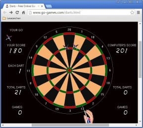 Olltwit's Darts Game