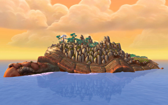WoW � Mists of Pandaria: Insel © Blizzard