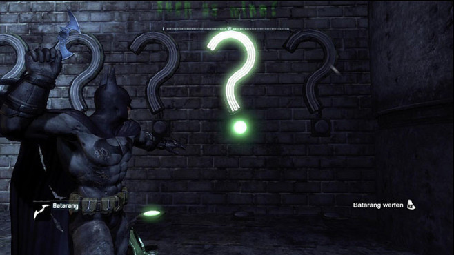 Komplettlösung Batman – Arkham City: Riddler-Trophäen – Park Row © Warner Bros.