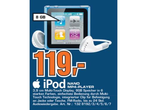 Apple iPod nano ©Saturn